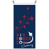 Air Force Cape Flag - to be worn as a cape