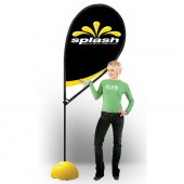 Medium Splash Flag pole 3.1m