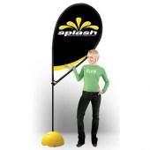 Splash flagpole