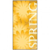 Spring Flag Yellow 900mm x 1800mm (Knitted)