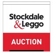 Stockdale & Leggo Auction Flag