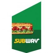 Subway Shop Front Banner Green