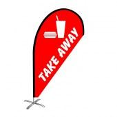 Take Away Small Teardrop Flag Kit