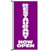 Restaurant Now Open Flag