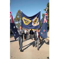Glenorie RSL flag bearers