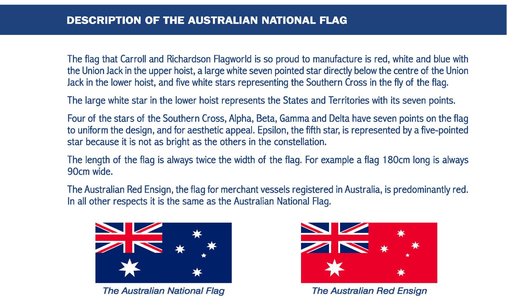 Australian Flag Information