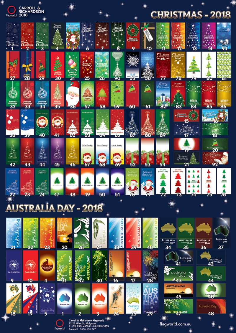 Christmas and Australia Day Brochure