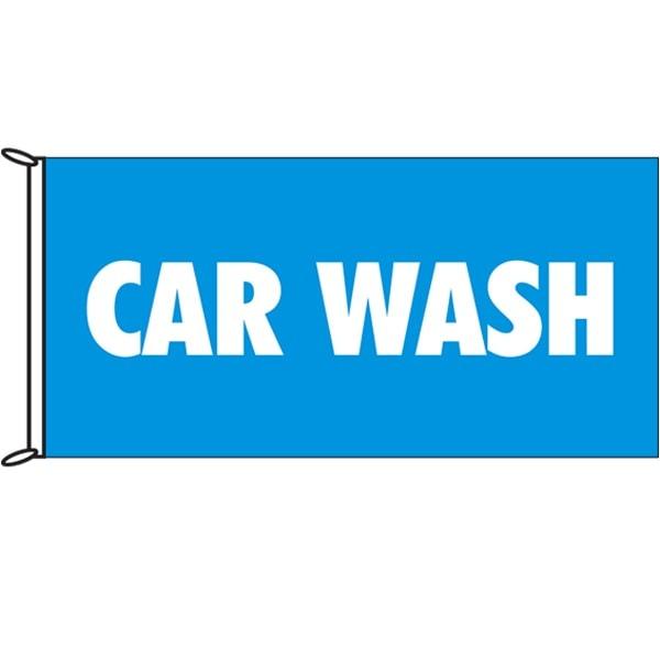 Car Wash Flags