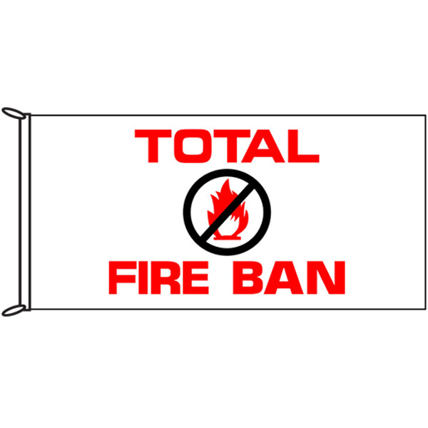Total Fire Ban Flags