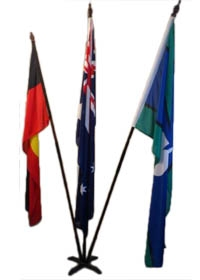 Australian Flag Display