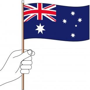 Australian Hand Flag