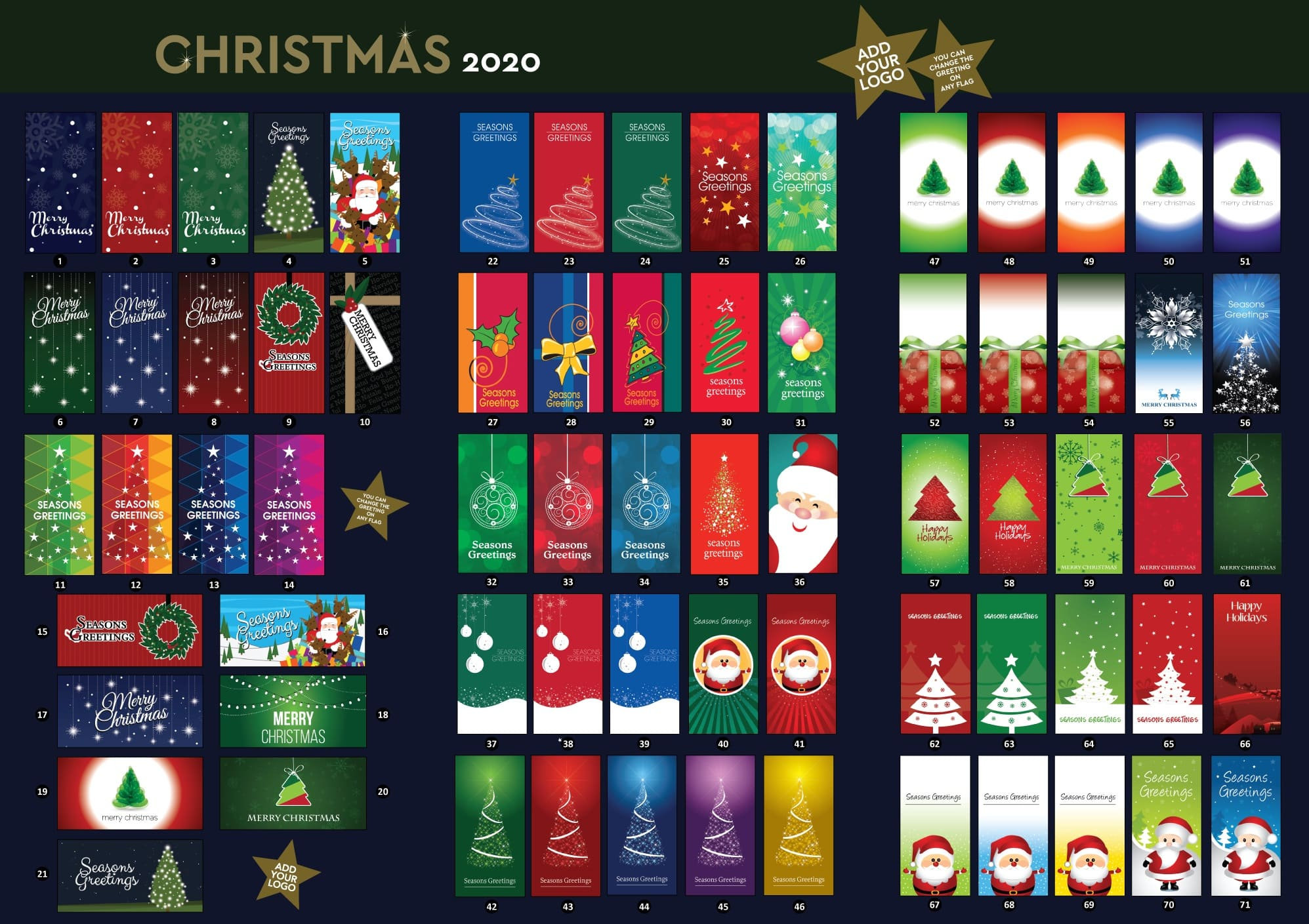 Christmas Flags Brochure pg 1