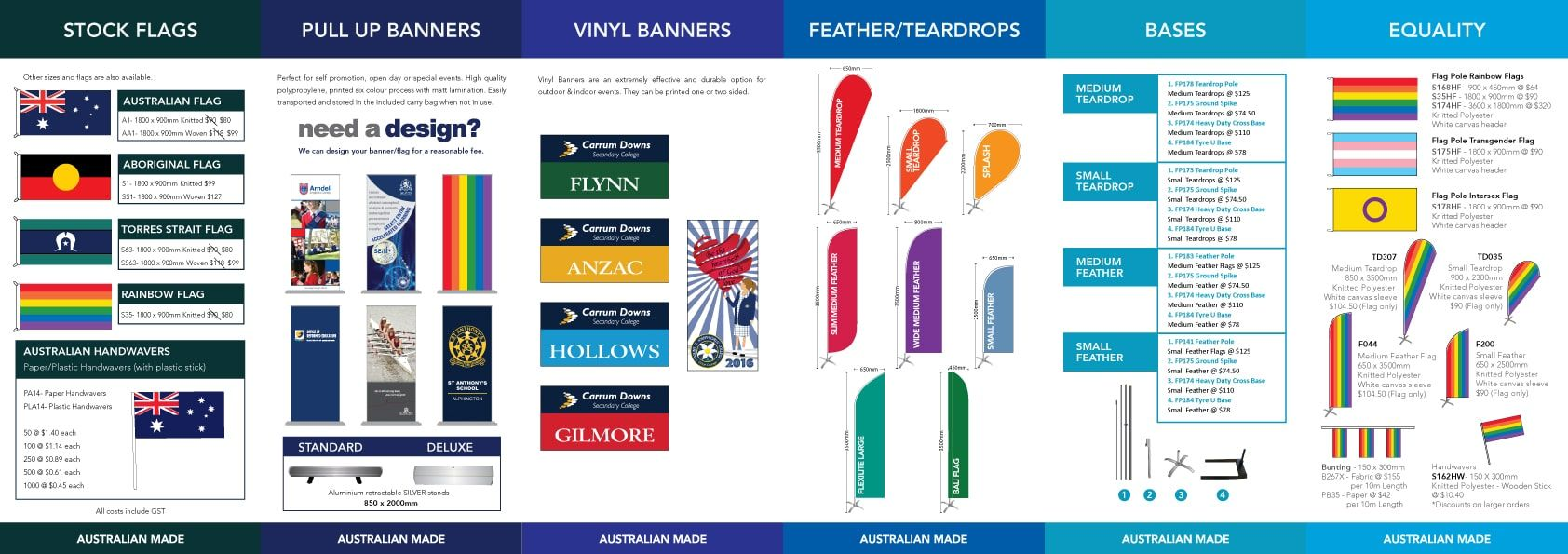 General Flags and Banners page 2