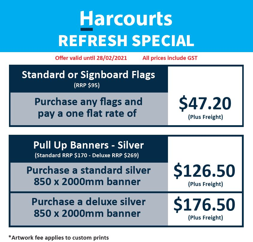 Harcourts Special Offer Page 1