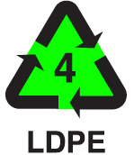 LDPE Recycling Icon