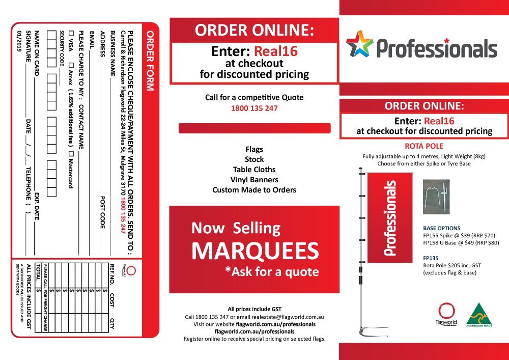 Professionals Brochure Page 1