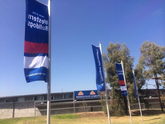 Western Bulldogs Banner 1