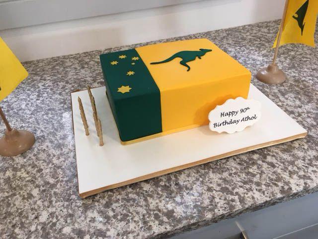Athols Birthday Cake