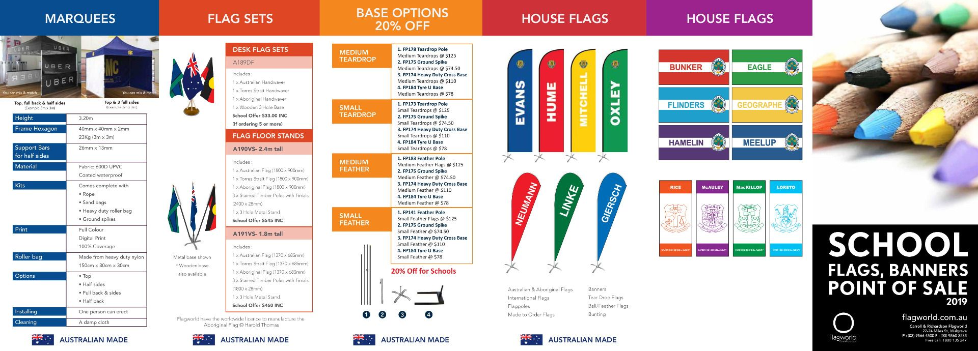 School flags page 2