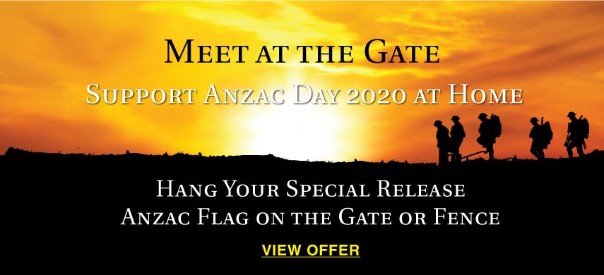 Flagworld Meet at the gate promotion