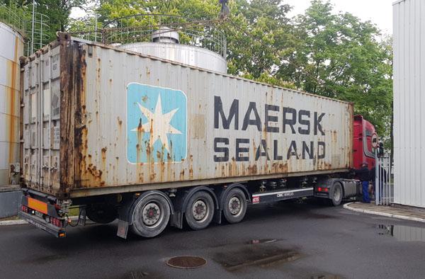 Truck Delivering Printer