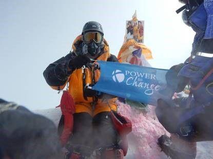Power to Change Everest Summit