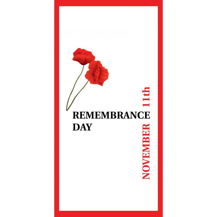 Remembrance Day Flag 13