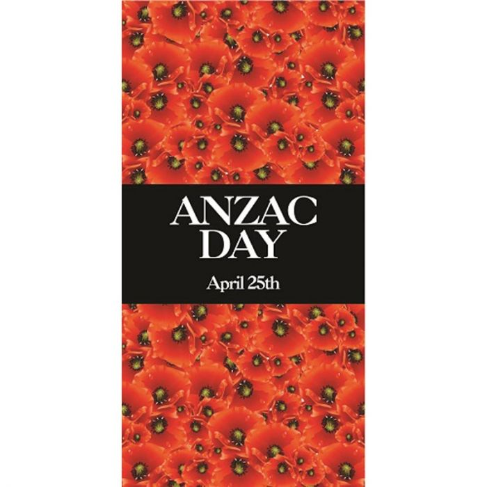 ANZAC Day Flag  -  Field of Red Poppies (29)