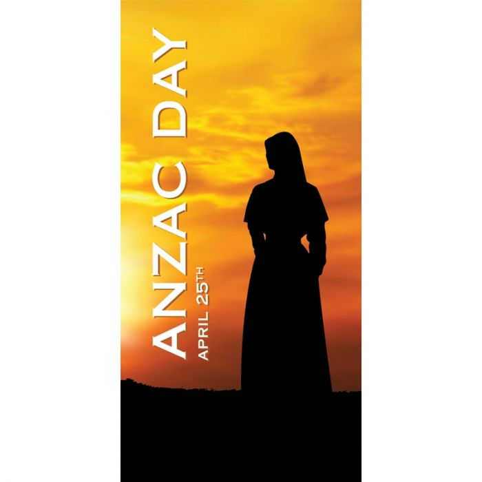 ANZAC Day Flag  - Sunset with Nurse (54)