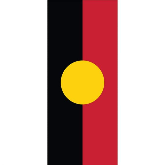 ANZAC Day Flag  - Aboriginal Flag (59)