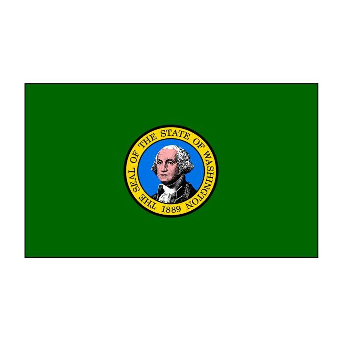 Washington Flag (Double-Sided)