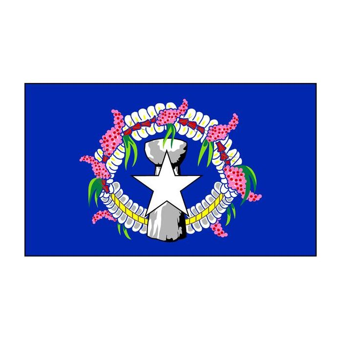 Northern Marianas Flag Knitted