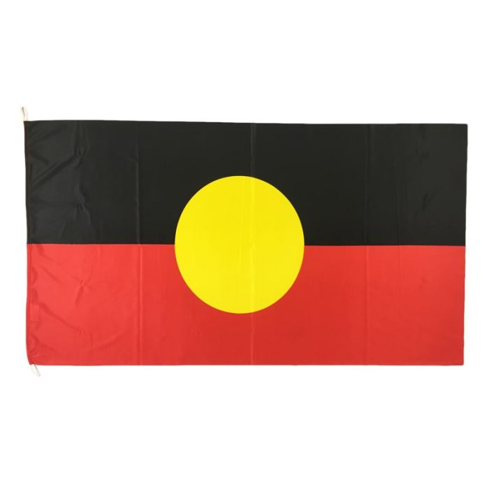Aboriginal Flag Knitted