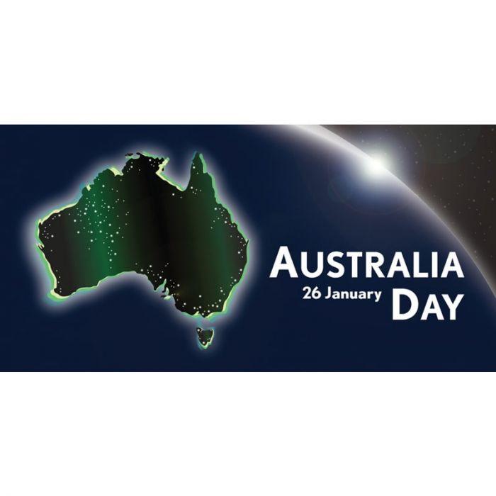Australia Day Flag Globe Horizontal (41)