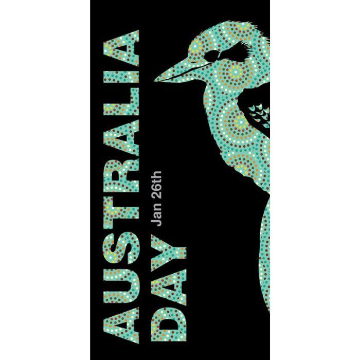 Australia Day Flag Kookaburra (53)