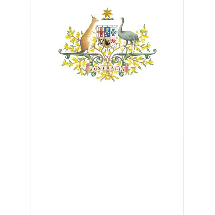 Australian Crest Pull Up Banner (A4 sized)