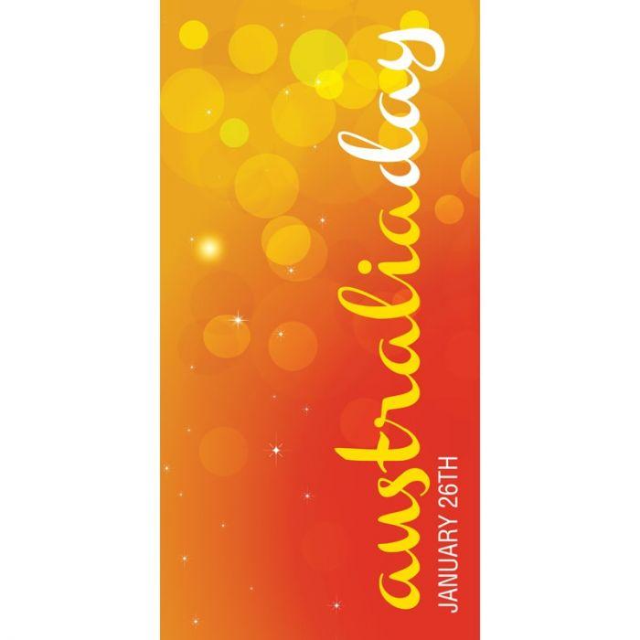 Australia Day Flag Orange Bubbles (23)