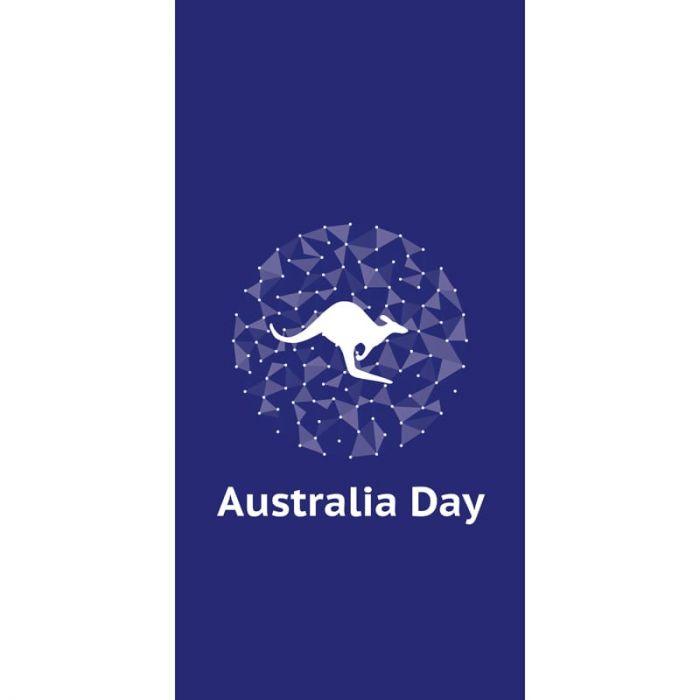 Australia Day Flag Circle Blue (9)