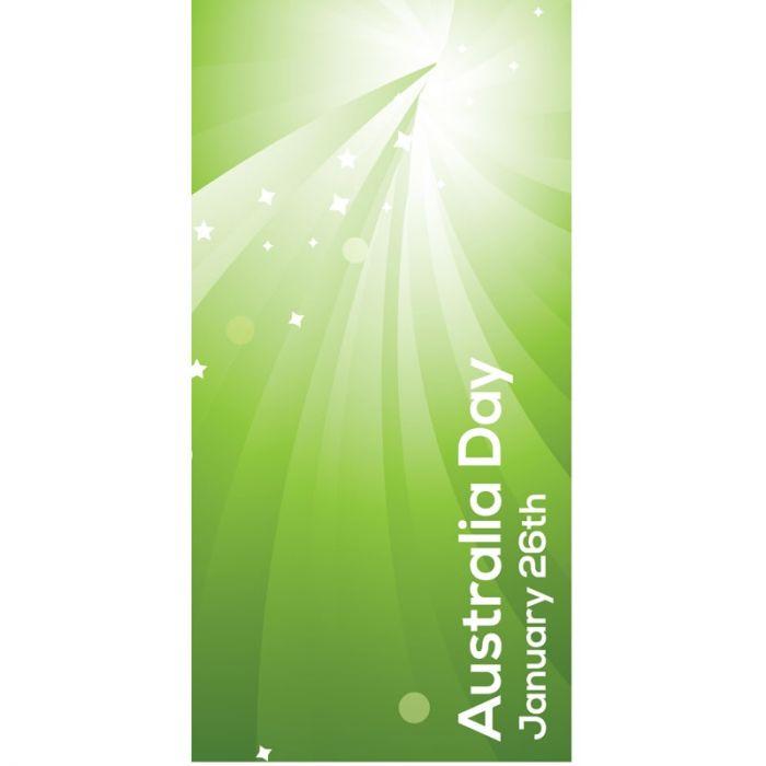 Australia Day Flag Light Green (12)