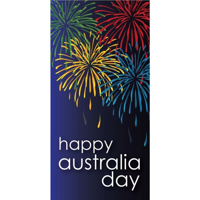 Australia Day Flag Fireworks (28)
