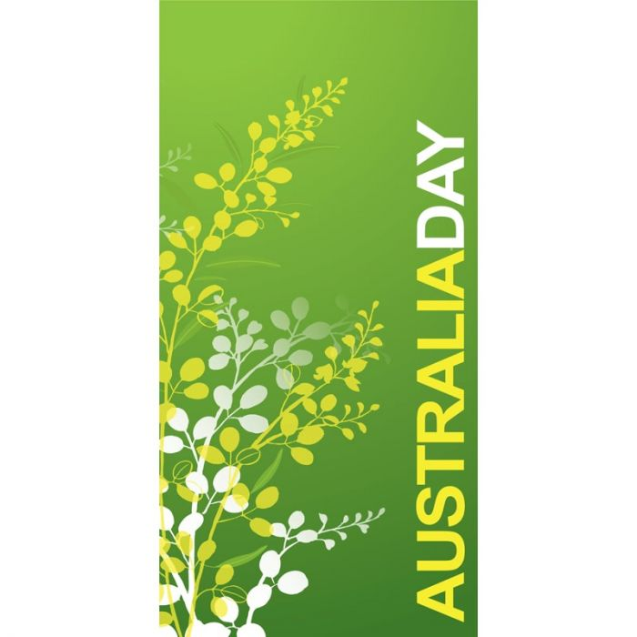 Australia Day Flag Light Green Wattle (31)