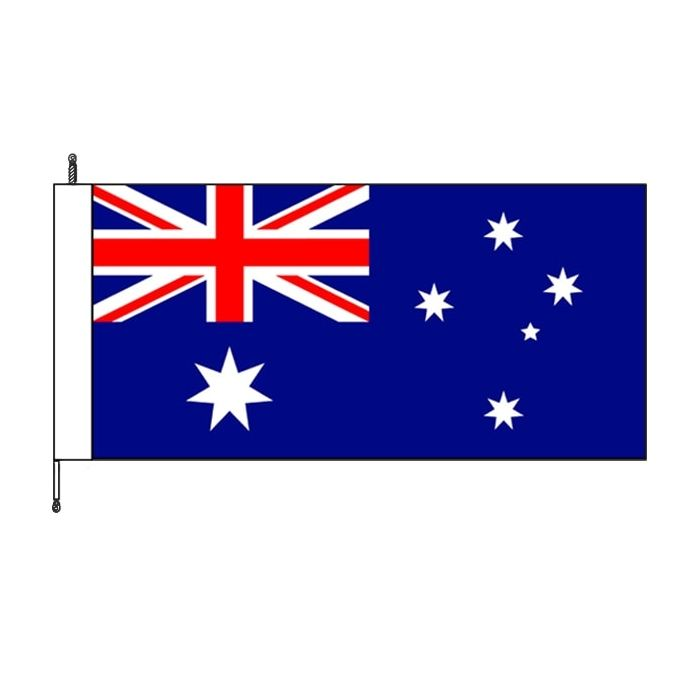 Australia fully sewn flag