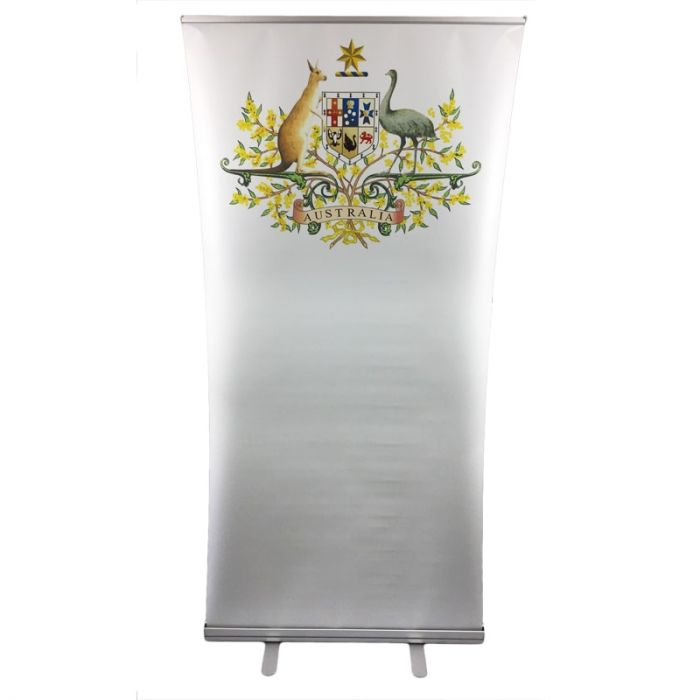 Australian Coat of Arms Pull Up Banner