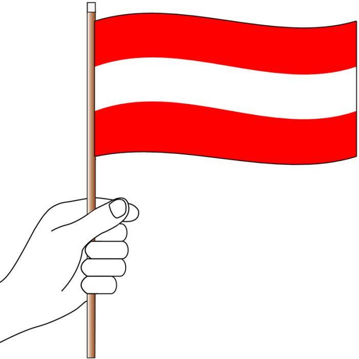 Austria Handwaver Flag