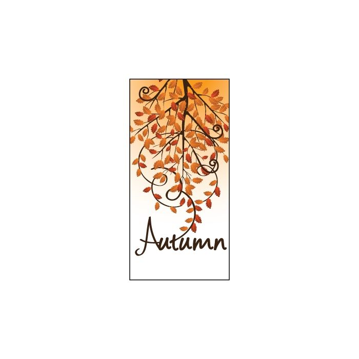 Autumn Flag 1 900mm x 1800mm (Knittted)