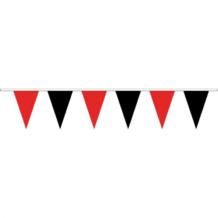 Pennant Bunting Red & Black