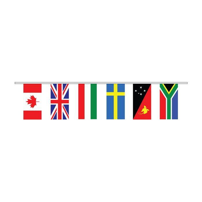 International Bunting Flags