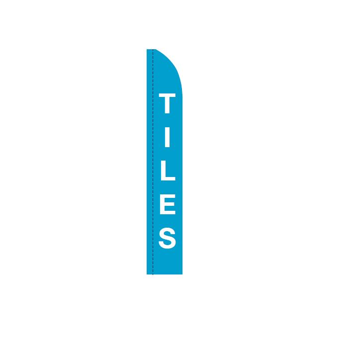 Blue Tiles Bali Flag