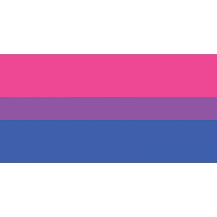 Bisexual Flag 1800mm x 900mm (Knitted)