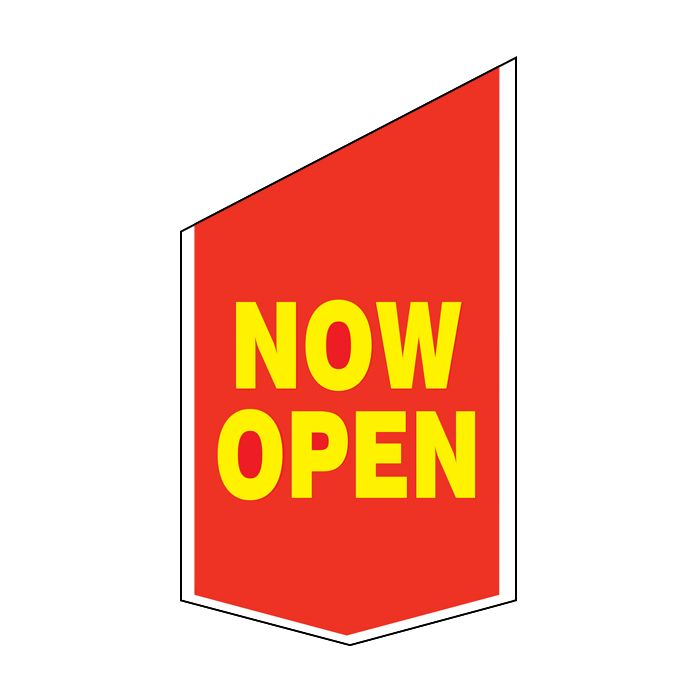Now Open Shop Front Banner